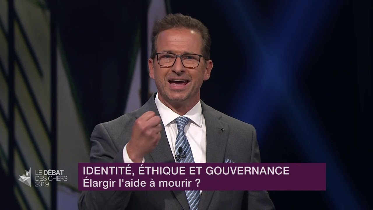 Yves-François Blanchet répond à la question d'un citoyen sur l'aide médicale à mourir