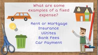 Differences between Fixed and Variable Expenses.