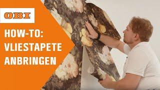Vliestapete mit Muster richtig tapezieren | Schritt für Schritt-Anleitung | OBI