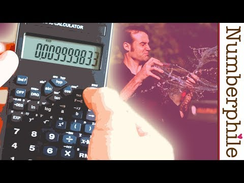 Calculator Unboxing #1 – Numberphile