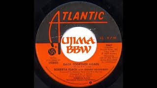 ROBERTA FLACK WITH DONNY HATHAWAY   Back Together Again   ATLANTIC RECORDS   1979