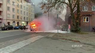 06.11.2020 / Brand-Bil i det fri / Søborg