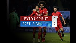 HIGHLIGHTS: Leyton Orient 3-2 Eastleigh