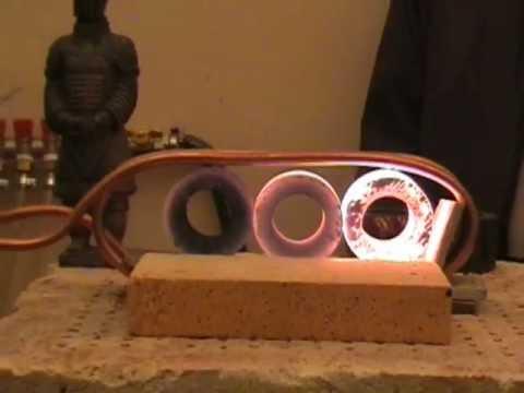 Индукционный кузнечный нагреватель на ВЧ-120АВ