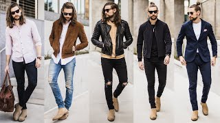 5 Outfits From 1 Pair Of Chelsea Boots (Mens Style Lookbook)