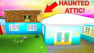 I Bought A Mansion With A Secret Haunted Attic... (Roblox)
