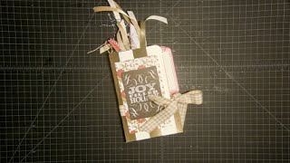 File Folder Christmas Tag Holder And Swap Announcement