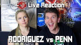 Rodriguez vs Penn - LIVE REACTION Full Fight