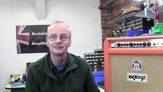 How to Bias Orange Rockerverb 50 MKII