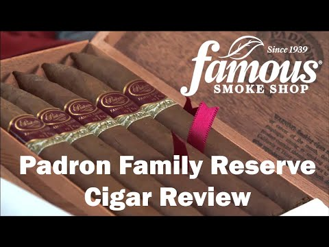 Padron Family Reserve video