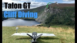 ZOHD Talon GT - FPV Cliff Diving!! [HD & OSD]
