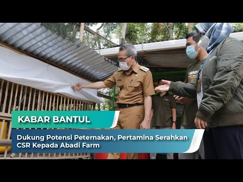 Launching Program CSR Budidaya Ayam dari Pertamina