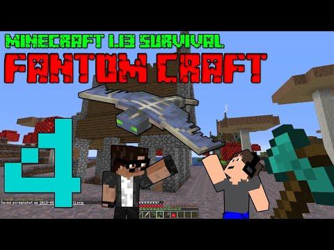 NOVÝ MLÝN! Minecraft survival 1.13! #4 |FANTOM CRAFT| w/CukeMan