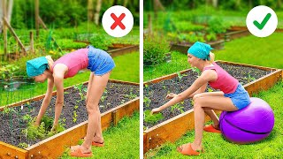 35 Useful Gardening Hacks    Easy Ways to Grow And Collect Food