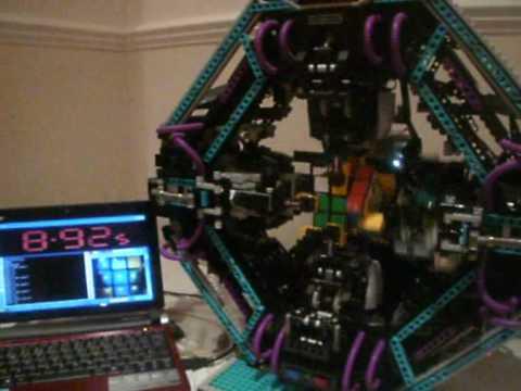 0 【動画】レゴ+ルービックキューブ+10秒
