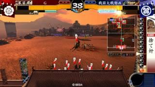 戦国大戦1615BSS島津勝久Ver3.10D