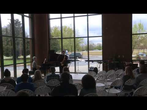 A recent performance at UNG: Sonata, Movement I by Wolfgang Jacobi