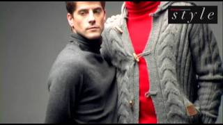 Красивые парни, Making of Maxi Iglesias y Luis Fernández para Shangay Style