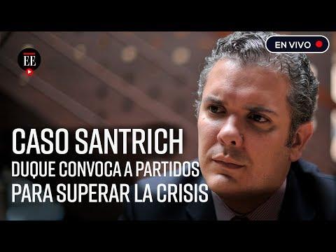 Duque insiste en que esta listo para firmar extradicion de Santrich| Noticias | El Espectador