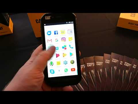 Video anteprima CAT S31 ed S41, Rugged Phone Android