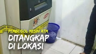 Pelaku Pembobol Mesin ATM di Banyumanik Ditangkap di Lokasi, Modusnya dengan Mencongkel