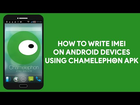 How To Write IMEI On Android Devices Using Chamelephon Apk - [romshillzz]