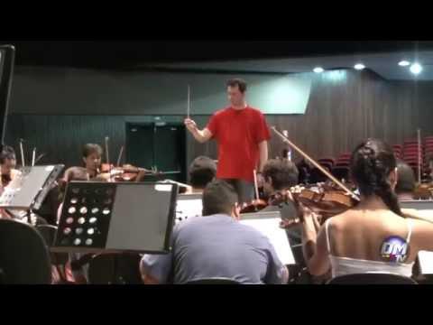 Orquestra Filarmonica de Goias in Brazil - April 2014