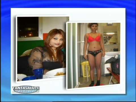 Video che va alla carica per perdita di peso di uno stomaco e una vita