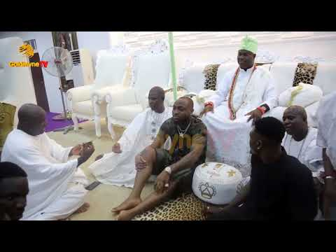 DAVIDO INTRODUCES CHIOMA TO OONI OF IFE