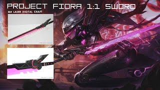 [Project Fiora Weapons] from LOL By Mr Laser Digital Craft