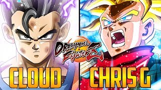 DBFZ ▰ Cloud805 Vs Chris G 【High Level Dragon Ball FighterZ】