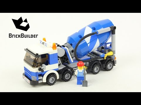 Vidéo LEGO City 7990 : La bétonneuse