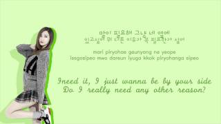 EXID - 1m [Color coded Hangul|Rom|Eng lyrics]