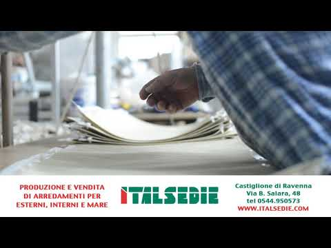 Italsedie - production and sale of furnishings for exteriors, interiors and the sea