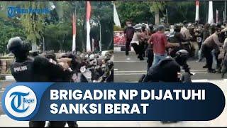 Brigadir NP Dijatuhi Sanksi Berat setelah Banting Mahasiswa di Tangerang, Kenaikan Pangkat Ditunda