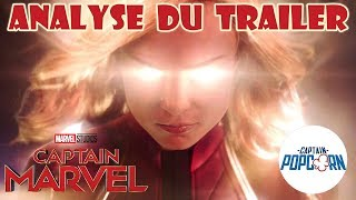 Captain Marvel : Analyse du trailer et théories