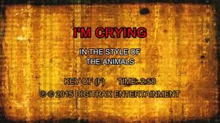 The Animals - I'm Crying (Backing Track)