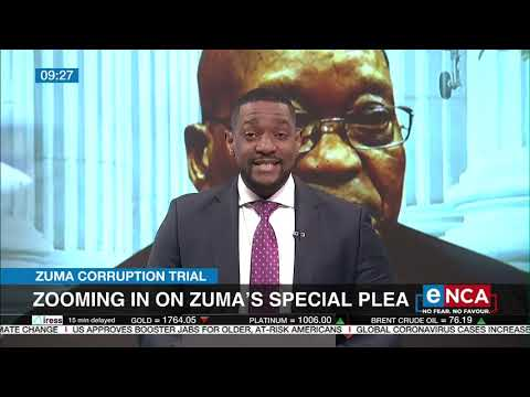 Discussion Zooming in on Zuma's special plea