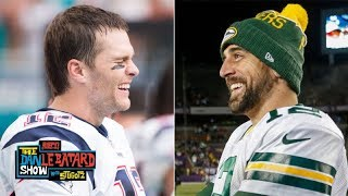 Aaron Rodgers is still laughing at the Tom Brady critics | The Dan Le Batard Show