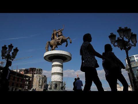 Αποστολή στα Σκόπια: Με το μυαλό στην κάλπη οι πολίτες