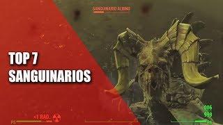 FALLOUT 4 | TOP 7 SANGUINARIOS