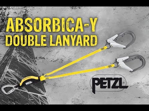 Double Lanyard With Integrated Energy Absorber - Absorbica-y
