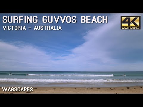 Fun wave surfing at Guvvos