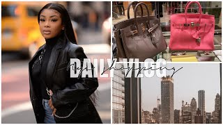 VLOG: Should I buy a birkin bag? | Photoshoots with papparazzi + more | AALIYAHJAY by Ms Aaliyah Jay