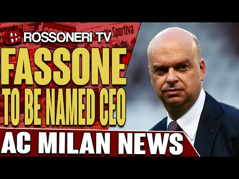 Fassone To Be Named CEO | AC Milan News | Rossoneri TV