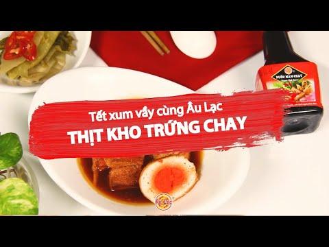 ✅ THỊT KHO HỘT VỊT CHAY - Món ngon Au Lac Vegan
