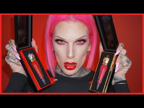 $85 LIP GLOSS REVIEW! Christian Louboutin Loubilaque | Jeffree Star