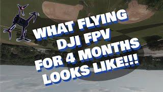 DJI FPV FreeStyle   My First Drone Crash...   Full Stunt Acro Mode!