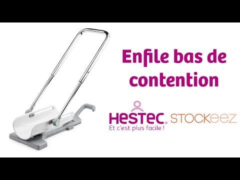 HESTEC - Enfile-bas de contention Homme et Femme Stockeez