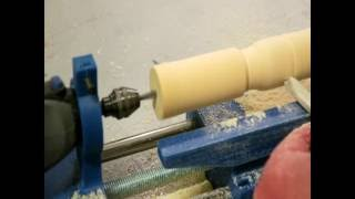 Micro Lathe Powered By A Dremel Multi Tool